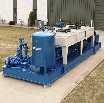 HydroThrift Water Chiller Piping Schematic Diagram on